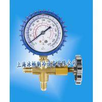鸿森雪种表HS-466AL 冷媒表 空调表 R12/R22/加液表 加氟压力表