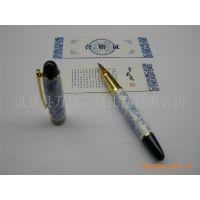 万里文具高档青花水笔/礼品签字笔(含配套礼品袋)青花瓷宝珠笔