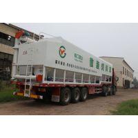 供应2-35吨散装饲料运输半挂车饲料罐
