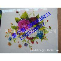 洛阳玻璃装饰物印刷设备/ 玻璃艺术浮雕手感 花卉图案栩栩如生