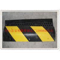 橡胶减速带 减速垄30CM宽 橡胶缓冲带 道路减速设备 厂家直销