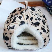 订做猫咪狗狗窝 可爱小猫窝 宠物屋 狗窝 来图来样加工 宠物衣服