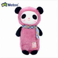 metoo恰恰乐开心包熊猫毛绒玩具 薰衣草安神助眠摆件包