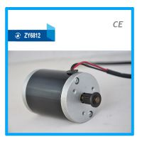 100W 24V 皮带轮微型直流有刷电机 小型电动车电机