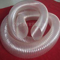 供应经销批发PU钢丝螺旋伸缩管(通风除尘管),可加工定制