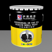 伊莱格油性外墙哑光墙面漆外墙环保涂料