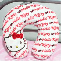 hello kitty KT猫U型枕头/护颈枕/车饰头/旅行枕 坐车 办公必备