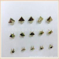 供应生产DIY配件 铜爪钉 方形爪钉 圆形四爪扣 环保无毒 欧美标准