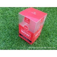 厂家定做 PVC盒子  化妆品包装盒 透明PVC包装盒 塑料包装盒