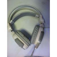 供应磁动力呼吸炫灯 7.1 CF 头戴式USB带麦克风 电脑游戏耳机发光耳机