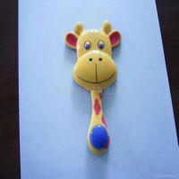 小鹿平面塑胶公仔,注塑喷漆移印等加工