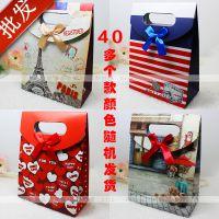 批发礼物手提纸袋 首饰礼品袋 包装纸袋 韩版袋子 创意手拎纸袋子