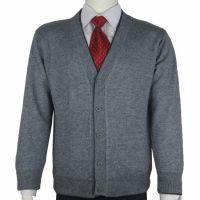 秋冬装中老年男士加厚毛衣开衫 男式羊毛衫外套男装针织衫爸爸装