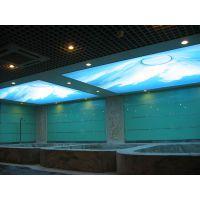 供应嘉兴软膜天花 灯光膜 透光膜 喷绘膜 UV喷绘膜造型膜 广告膜