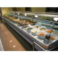 芜湖市菜市场熟食展示柜 商场熟食柜 熟食柜厂家定做