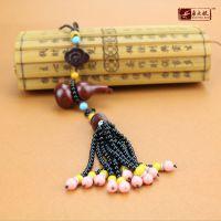 饰品创意配饰印度小叶紫檀精品葫芦车挂件 高档红木挂饰 多款式