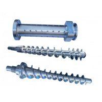 橡胶螺杆料筒翻新,橡胶机螺杆料筒维修,橡胶螺杆料筒修复