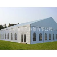 供应直销耐用篷房 高档尖顶篷 白色帐篷 展会篷房 户外活动篷房