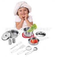 S/S TOYS 12件套迷你餐具 缩小版儿童过家家玩具