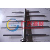 供应广兴不锈钢楔形丝布水器滤芯丝管支管
