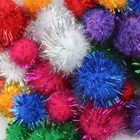 特惠3岁以上儿童 幼儿园手工制作材料 泡沫球 彩色 毛绒球 毛毛球