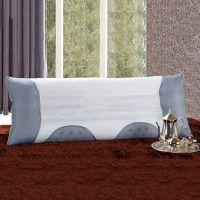 全棉决明子磁疗双人枕 优质保健枕芯 1.2米特色护颈枕 厂价批发