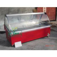 熟食柜 鲜肉柜 蔬菜保鲜柜 卧式冷柜 冷藏展示柜 全国联保冷柜