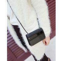 韩国镜面小包 镜子单肩斜跨迷你包 黑色iphone5_5s手机包女包280