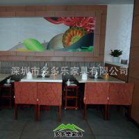 供应【多多乐】山西陕西自助隐形电磁炉火锅桌 肥牛火锅桌椅订制