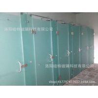 河南洛阳厂家定制.深加工.钢化玻璃.卫生间隔断 浴室隔断