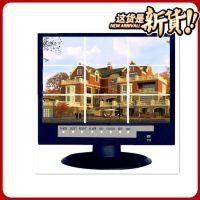 供应网络8路NVR 带17寸屏一体硬盘录像机 家居智能监控系统
