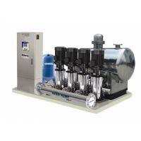 无塔供水设备 管网无负压智能控制 采用不锈钢增压泵