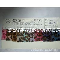 680#加厚软材质马毛豹纹 双色豹纹印花人造马皮革 鞋材箱包面料