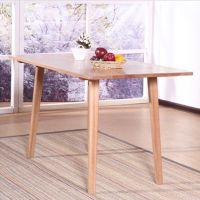 简约实木餐桌 桌子 实木餐厅家具 诺亚 亦家 工厂直销