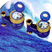 宁波宁生水表 旋翼式家用4分立式冷水表 数字水表 现货供应