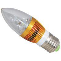 供应金迪LED蜡烛灯 3W LED室内灯具 LED水晶灯专用