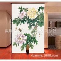 【中式国画壁画订制】中式配画,仿真国画,高仿名家书画