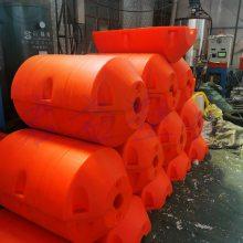 直销PE塑料浮球 海上滚塑浮体 68CM直径浮桶