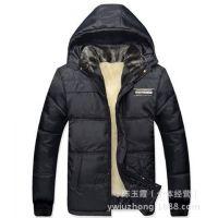 特价中老年棉衣男冬装外套加厚毛绒内胆棉袄爸爸保暖棉衣一件代发