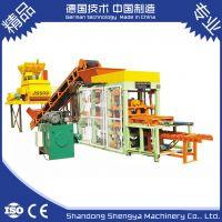 山东胜亚供应QT4-15 全自动液压制砖机 全自动制砖机 质优耐用 欢迎垂询