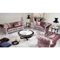 爵士芭 苏州家具厂 欧式酒店家具 欧式实木组合沙发 厂家直销