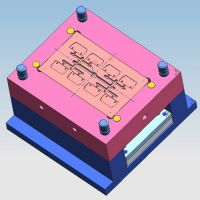 上海澳桉UK接线端子图纸设计 轨道式接线端子模具制作  注塑加工