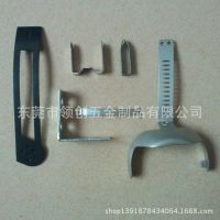 电子五金冲压件、锰钢弹片冲压、不锈钢固定片冲压