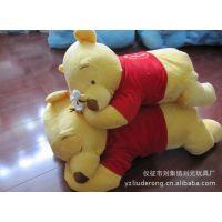 批发供应迪士尼蜜蜂熊/维尼熊毛绒抱枕,维尼熊睡姿100cm