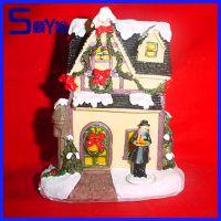 直产自销迷你树脂房子 微景观配件树脂小房屋摆件背景道具