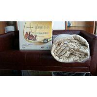 驼绒被厂家做工精细 【多款产品】量大价低现货出售