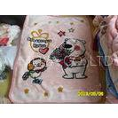 cartoon Antistatic Soft Polyester Baby Blanket Woven Blankets For Hotel / Home