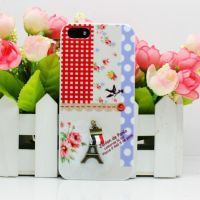 iphone5手机壳订制 iphone手机外壳保护套印花订制加工设备UV