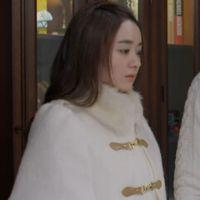 2014秋冬新款杉杉同款-赵丽颖明星同款韩版斗篷毛呢外套