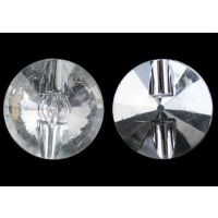 透明亚克力卫星扣子16L-52L,高档亚克力电镀扣子钮扣厂家直销